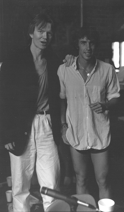 Jim Carroll & Chris Funkhouser