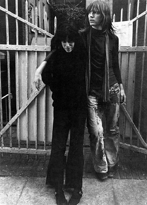 Jim Carroll & Patti Smith