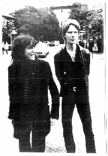 Jim Carroll and Patti Smith
