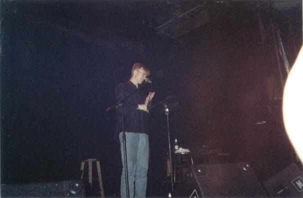 Jim Carroll at the Shim Sham Club, New Orleans, 2001 (ten photos by ...
